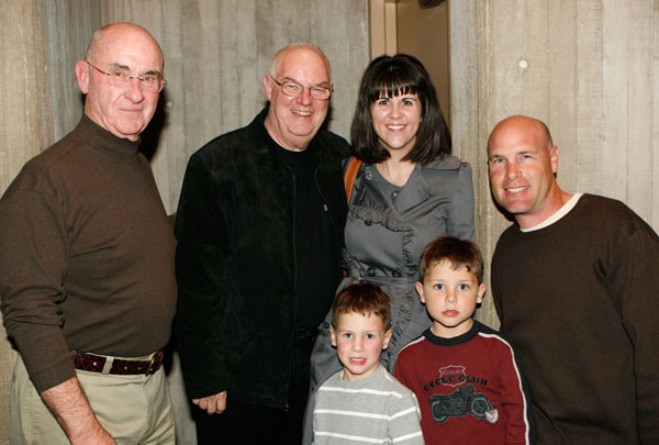 Burt Peachy, Philip Westin, and the Crist Family